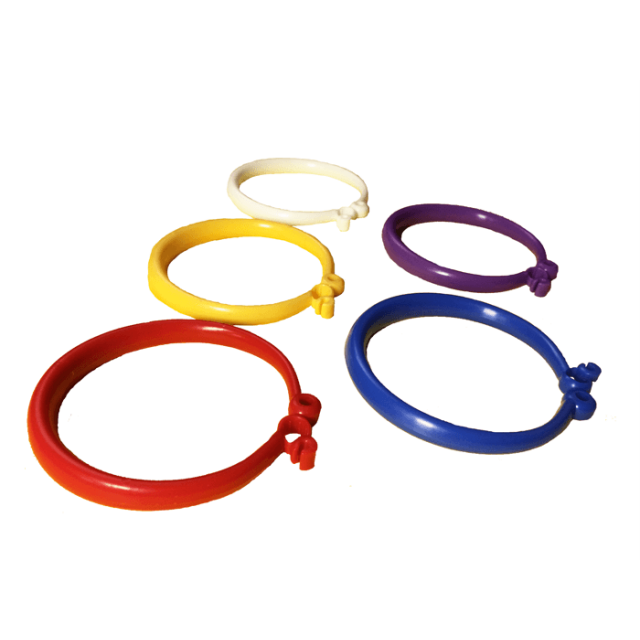 Band-O Quick-Tie Primary Mix [ 8-Gram Weight Clips ] - Control Balloon Products