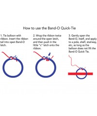 Band-O Quick-Tie Primary Mix [ 8-Gram Weight Clips ]