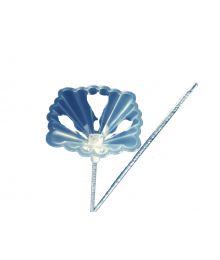 Large Stick-Cup Combo [ Scalloped Twist-Lock Cups + Bubble Stick (  20 in. x 5 mm. ) ]