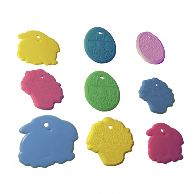 Easter Shape Multi-Color Mix [ 8-Gram Weights ] - Control Balloon Products