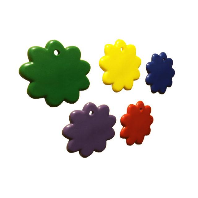 Flower Shape Primary Mix [ 8-Gram Weights ] - Control Balloon Products