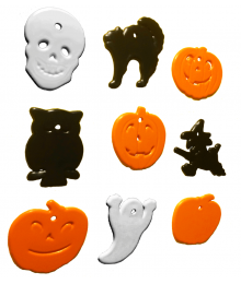 Halloween Shape Multi-Color Mix [ 8-Gram Weights ]