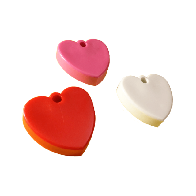 Heart Shape Multi-Color Mix [ 65-Gram Weights ] - Control Balloon Products