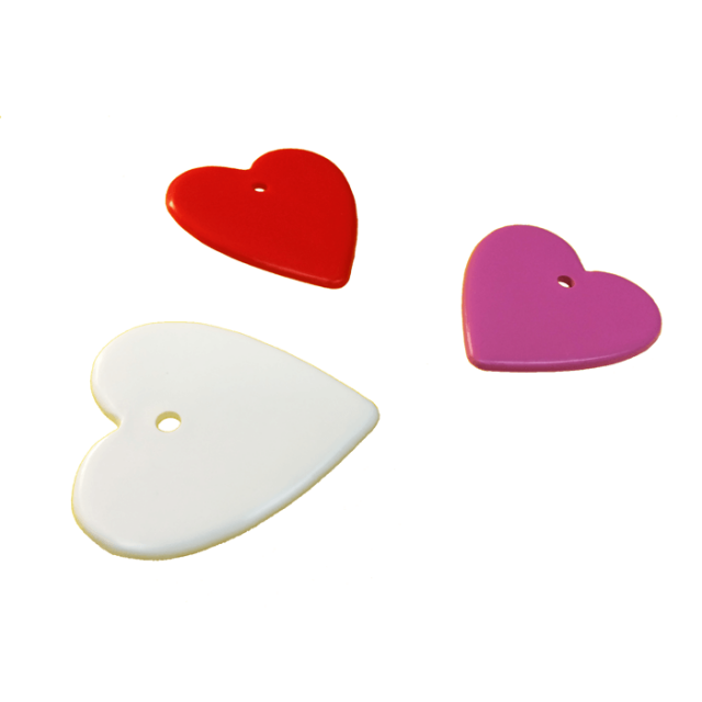 Heart Shape Multi-Color Mix [ 8-Gram Weights ] - Control Balloon Products