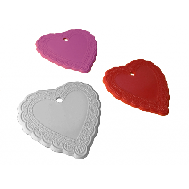 Passion Heart Shape Multi-Color Mix [ 8-Gram Weights ] - Control Balloon Products
