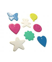 Assorted Shape Pastel Mix [ 8-Gram Weights ]