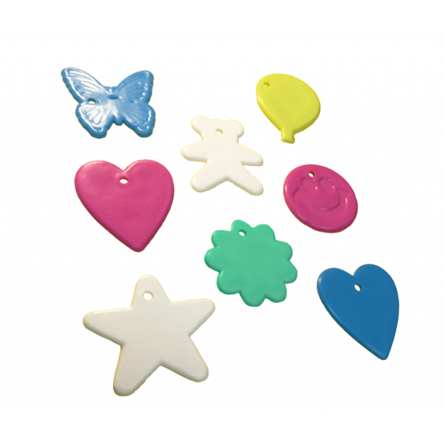 Assorted Shape Pastel Mix [ 8-Gram Weights ] - Control Balloon Products