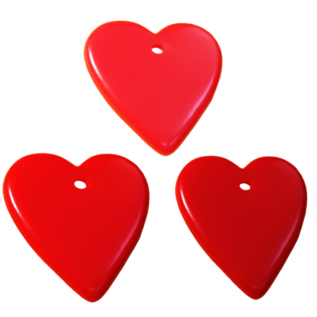 Heart Shape Red Mix [ 15-Gram Weights ] - Control Balloon Products