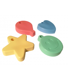 Assorted Shape Pastel Mix [ 65-Gram Weights ]