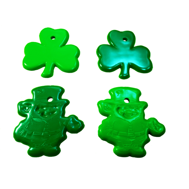 St. Patrick's Day Shape Dark & Light Green Mix [ 15-Gram Weights ] - Control Balloon Products