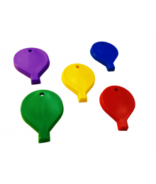 Balloon Shape Primary Mix [ 100-Gram Weights ]