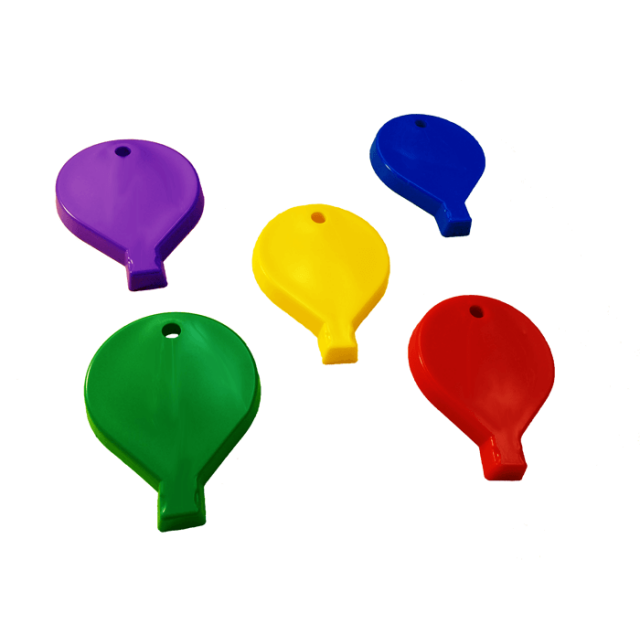 Balloon Shape Primary Mix [ 100-Gram Weights ] - Control Balloon Products