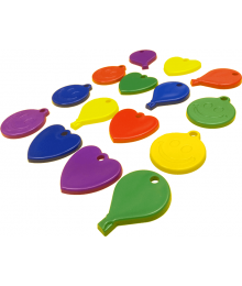Assorted Shape Primary Mix [ 30-Gram Weights ]