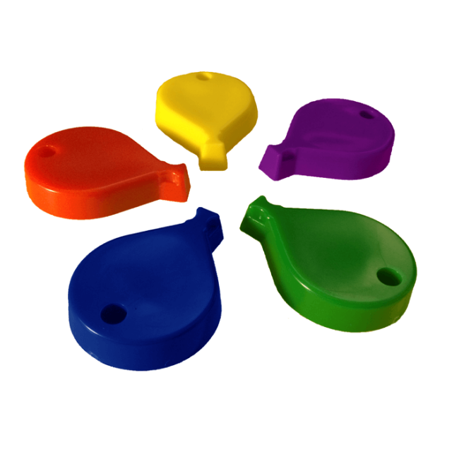 Balloon Shape Primary Mix [ 65-Gram Weights ] - Control Balloon Products