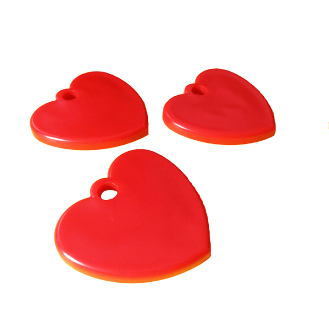 Heart Shape Red Mix [ 35-Gram Weights ] - Control Balloon Products